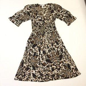 Diane von Furstenberg Womens 4 Midi Wrap Dress